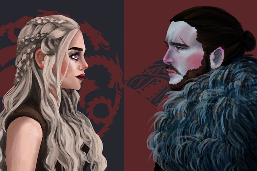 Daenerys and Jon
